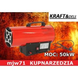 KRAFT&DELE - NAGRZEWNICA GAZOWA 50KW  KD705