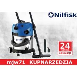 NILFISK - MULTI 20 INOX Odkurzacz do pracy na sucho i mokro