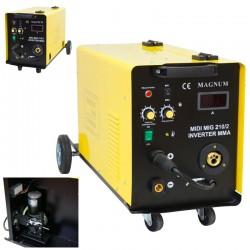 MAGNUM Inwerterowy półautomat spawalniczy MAGNUM MIDI MIG 210/2 MMA