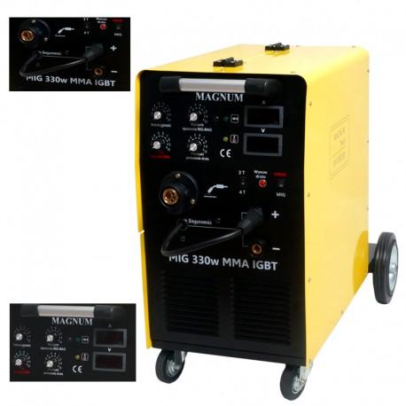 MAGNUM Profesjonalny półautomat MIG 330 W IGBT