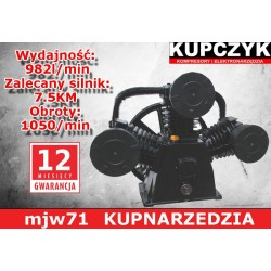 KUPCZYK POMPA SPRĘŻARKOWA W-3080 7.5KM