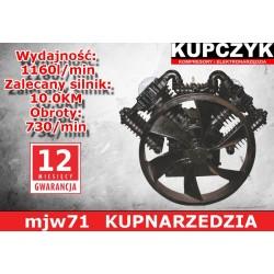 KUPCZYK POMPA SPRĘŻARKOWA V-707 10KM
