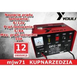 YOULI PROSTOWNIK DO ŁADOWANIA DFC-20 DFC20 12/24V