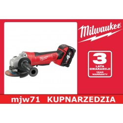 MILWAUKEE SZLIFIERKA KĄTOWA HD18 AG-125-402C 125 mm