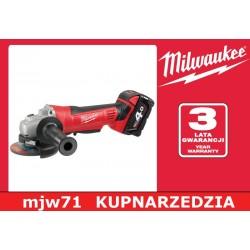 MILWAUKEE SZLIFIERKA KĄTOWA HD18 AG-125 - 0  M18 HEAVY DDUTY  125 mm