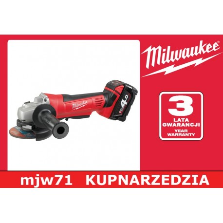 MILWAUKEE SZLIFIERKA KĄTOWA HD18 AG-125 - 0  M18 HEAVY DDUTY  125 mm