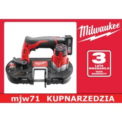MILWAUKEE PILARKA TAŚMOWA M12 BS-0