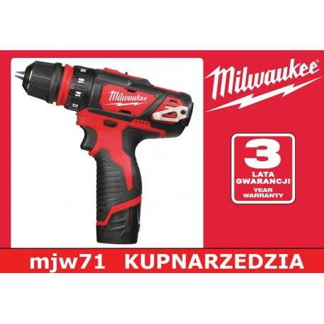 MILWAUKEE WIERTARKO-WKRĘTARKA Z UCHWYTEM M12 BDDX - 202C