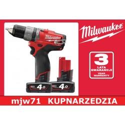 MILWAUKEE WKRĘTARKA UDAROWA M12 CPD-402C