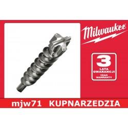 MILWAUKEE WIERTŁO SDS-MAX MS2 - 4 ostrza - 18/940/800