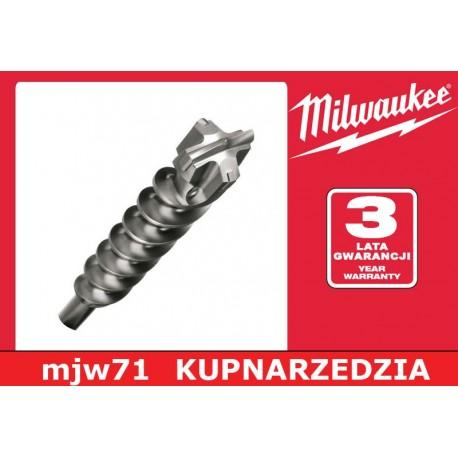 MILWAUKEE WIERTŁA SDS-MAX MS2 - 4 ostrza - 35/370/250