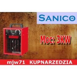 SANICO Nagrzewnica elektryczna 3kW