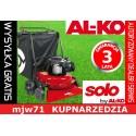 AL-KO - Spalinowy zbieracz trawnikowy do liści solo by AL-KO 750 B