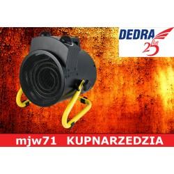 DEDRA Nagrzewnica elektryczna 3000W okrągła DED9931B