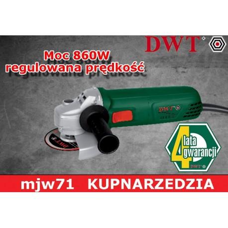DWT SZLIFIERKA KĄTOWA WS08-125 V
