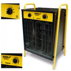 DEDRA - Nagrzewnica elektryczna 22kW DED9926