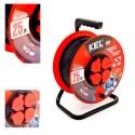 KEL - Przedłużacz bębnowy PRO PB-PRO/S/25m/3x1,5m H05RR-F