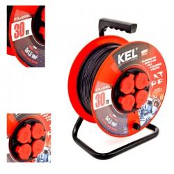 KEL - Przedłużacz bębnowy PRO PB-PRO/S/30m/3x1,5m H05RR-F