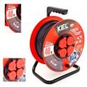 KEL - Przedłużacz bębnowy PRO PB-PRO/S/40m/3x1,5m H05RR-F