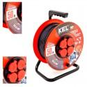 KEL - Przedłużacz bębnowy PRO PB-PRO/S/50m/3x1,5m H05RR-F