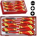 TENGTOOLS 10-elementowy Zestaw wkrętaków 1000 V Teng Tools TTV907N